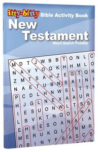 Activity Book New Testament Word Search (Itty Bitty Bible Series)