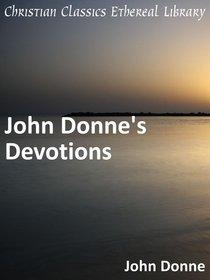 John Donnes Devotions
