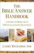The Bible Answer Handbook