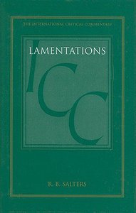 Lamentations (International Critical Commentary Series)