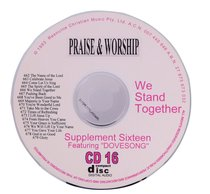 Rcm Volume C: Supplement 16 We Stand Together (2 Cds) (662-679)