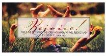 Promises Easled Magnet: Rejoice