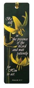 Tassel Bookmark: Be Still in the Presence
