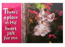 Poster Small: Theres a Place in His Heart Just For Me
