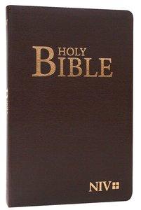 NIV Slimline Burgundy Flex Bible
