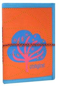 Small Journal Imagine Orange/Pink (Empowering The Poor Series)