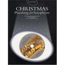 Christmas Playalong For Saxophone (Music Book)