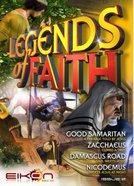 Good Smaritan, Zacchaeus, Damascus Road, Nicodemus (#02 in Legends Of Faith Comic Book Series)