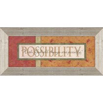 Keepsake Mdf Framed Art: Possibility