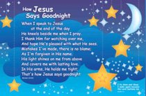 Poster Small: How Jesus Says Goodnight