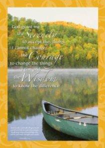 Poster Large: Serenity Prayer