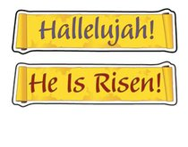 Stickers He is Risen! (108 Stickers)
