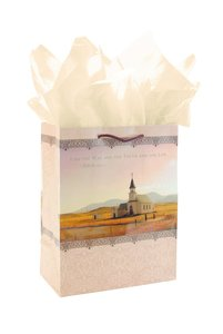 Gift Bag Large: New Church (Incl Tissue And Gift Tag)