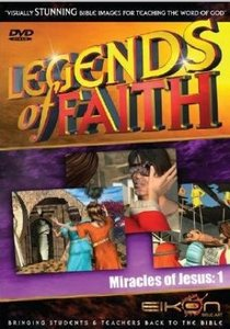 Miracles of Jesus 1 (DVD Rom) (Legends Of Faith Dvd Series)