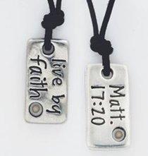 Pendant: Organic: Faith (Lead-free Pendant)