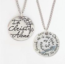 Pendant: Songs of Worship: In Christ Alone (Lead-free Pendant)