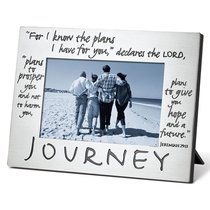 Pewter Photo Frame: Journey
