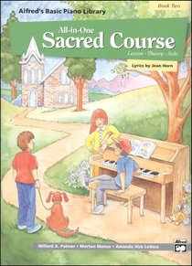 Alfreds Basic All-In-One Sacred Course For Children Book 2 (Music Book)