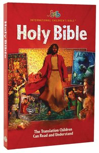 ICB Big Red Holy Bible (3-d Art)