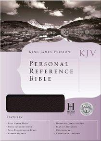 KJV Personal Reference Bible Black