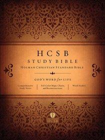 HCSB Study Bible Black