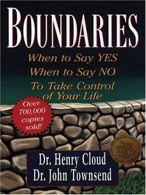 Boundaries (Large Print)
