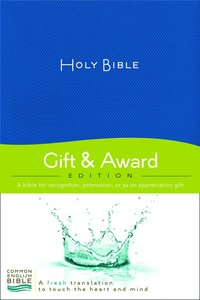 Ceb Gift & Award Blue (Red Letter Edition)