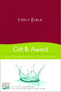 Ceb Gift & Award Red (Red Letter Edition)