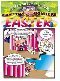 Easter - Kingdom Komics (10 Pack) (Professor Bumblebrain Absolutely Bonkers Series)