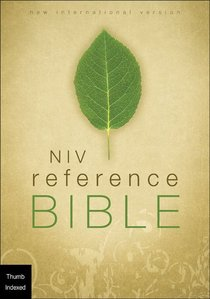 NIV Giant Print Reference Bible Indexed