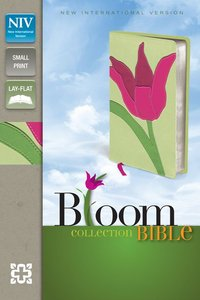 NIV Compact Thinline Bloom Bible Tulip Duo-Tone (Red Letter Edition)