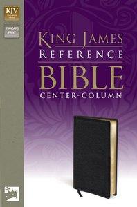 KJV Reference Bible Black (Red Letter Edition)