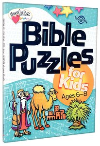 Bible Puzzles For Kids (Ages 6-8) (Heartshaper Series)