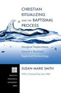 Christian Ritualizing and the Baptismal Process (Princeton Theological Monograph Series)