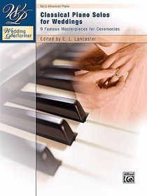 Classical Piano Solos For Weddings (Music Book)