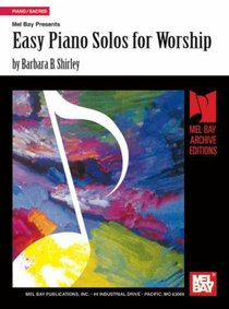 Easy Piano Solos For Worship (Music Book)