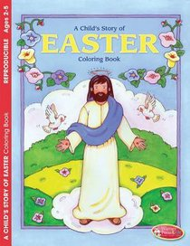 Colouring Book: Easter (Ages 2-5, Reproducible)