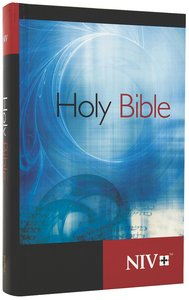 NIV Worship Bible Blue Swirl