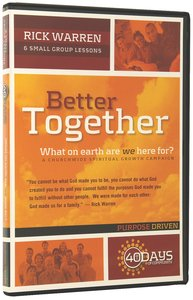 Better Together (Dvd)