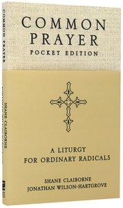 Common Prayer Pocket Edition