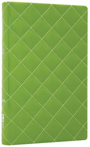 NIV Thinline Bible Quilted Kiwi Duo-Tone (Red Letter Edition)