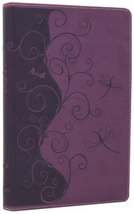 NIV Bible For Kids Violet Vines (Red Letter Edition)