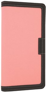 NIV Clutch Bible Pink/Chocolate (Red Letter Edition)