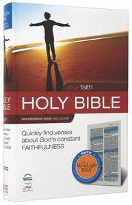 NIV Find Faith Verselight Bible