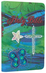 ICB Teal Sequin Bible (Black Letter Edition)