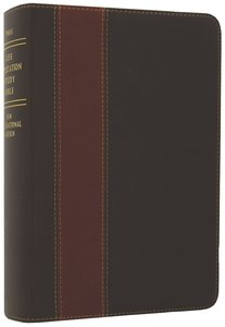 NIV Life Application Study Bible Personal Size Brown/Tan (Black Letter Edition)