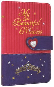 NLT My Beautiful Princess Bible Pink Purple Royalty (Black Letter Edition)