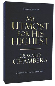 My Utmost For His Highest (Value Edition Language)