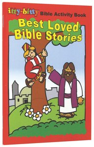 Activity Book Best Loved Bible Stories (Itty Bitty Bible Series)