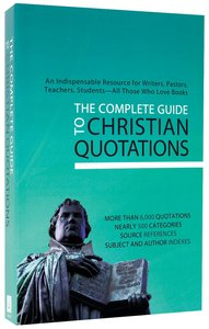 Complete Guide to Christian New Quotations